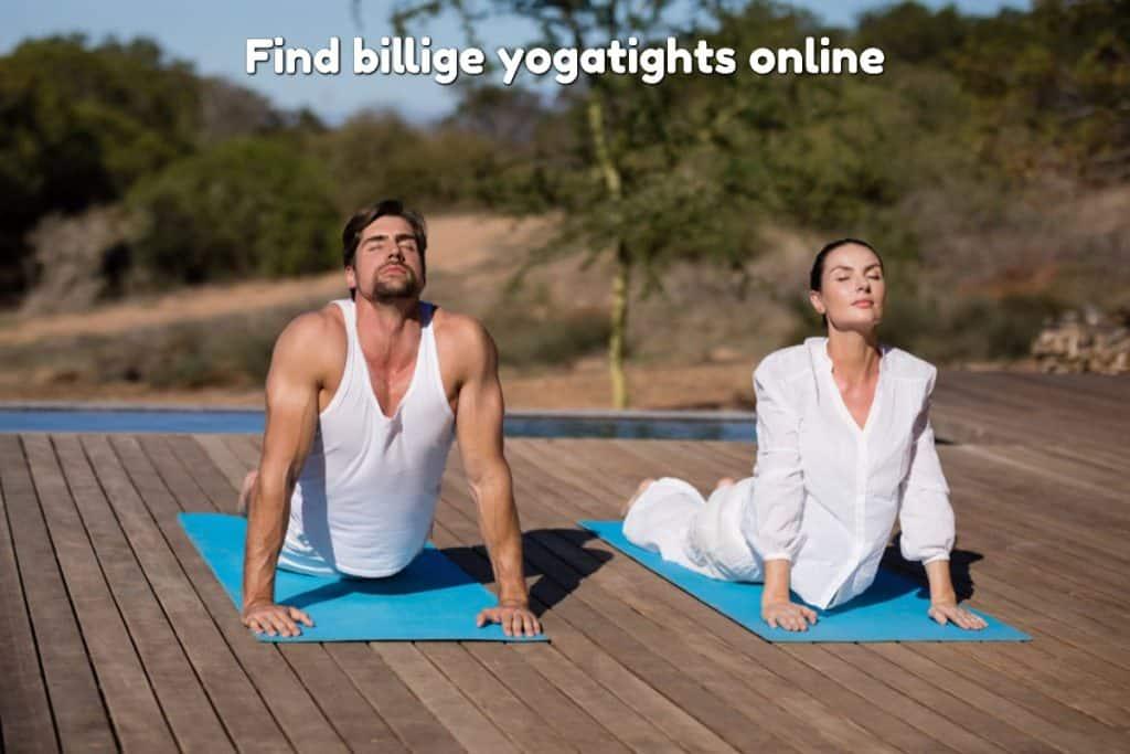 Find billige yogatights online